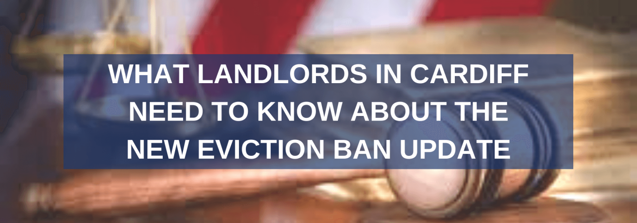 >Cardiff landlords should know about eviction ban