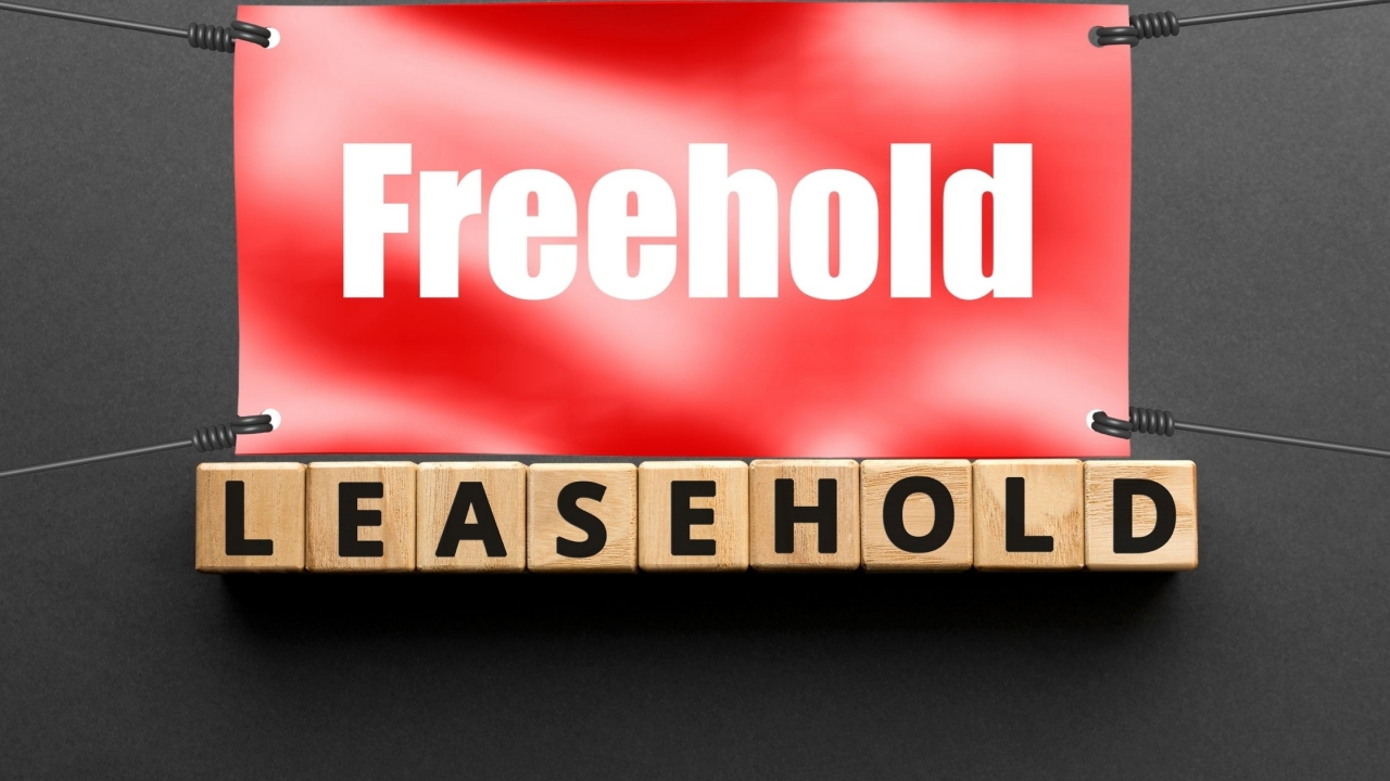 >Freehold compared to Leasehold
