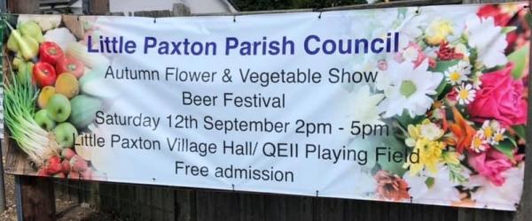 Little Paxton Autumn Flower & Vegetable Show Saturday 12th 2pm-5pm