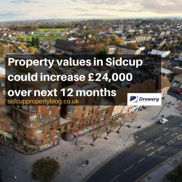 POST BREXIT - SIDCUP PROPERTY PRICES COULD INCREASE BY £24,000 OVER NEXT 12 MONT