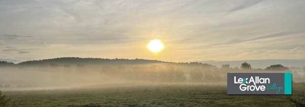 A beautiful first Autumn dawn over Hagley and Churchill, Worcestershire