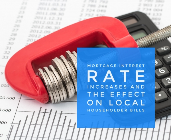 Increase in Interest Rates to cost Sidcup Home Owners £349.67 a year