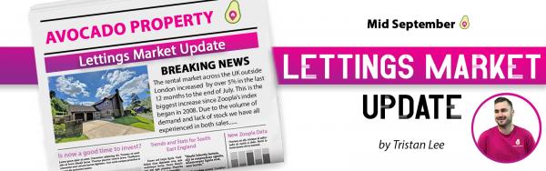 Mid September Lettings Market Update