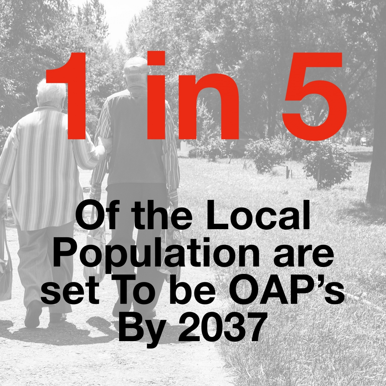 >As OAP's set to rise to 1...