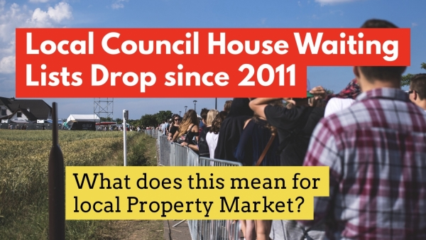 SIDCUP AND BEXLEY COUNCIL HOUSE WAITING LIST DROPS BY 2.2% SINCE 2011