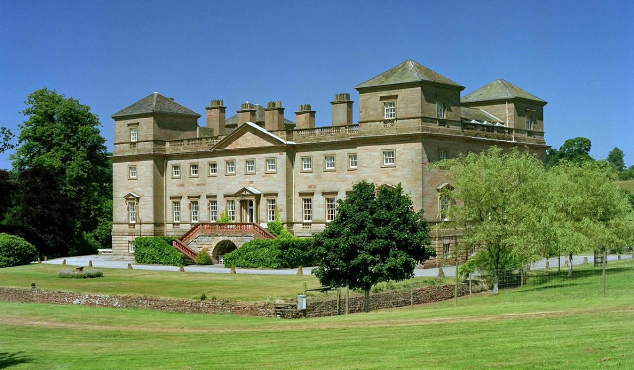 >Hagley Hall