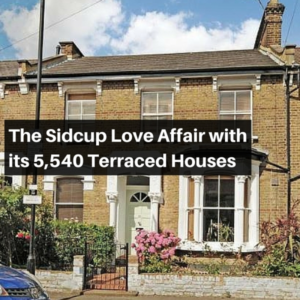 The Sidcup Love Affair with its 5,540 Terraced Houses