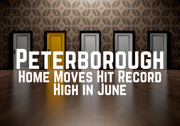 Peterborough Home Moves Hit Record High in June