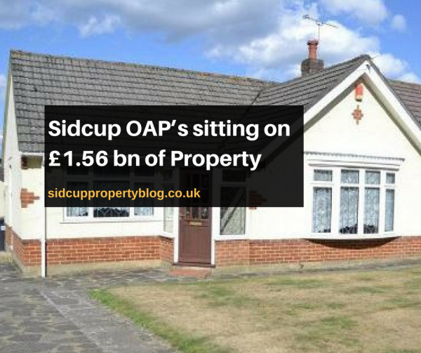 Sidcup OAP's sitting on £1.56 bn of Property