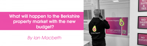 What will the new budget mean to the Berkshire property market?
