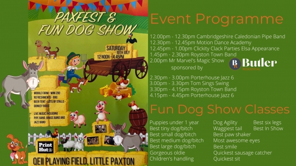 Paxfest & Fun Dog Show