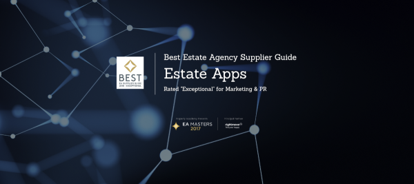 Estate Apps rated EXCEPTIONAL for Marketing & PR...