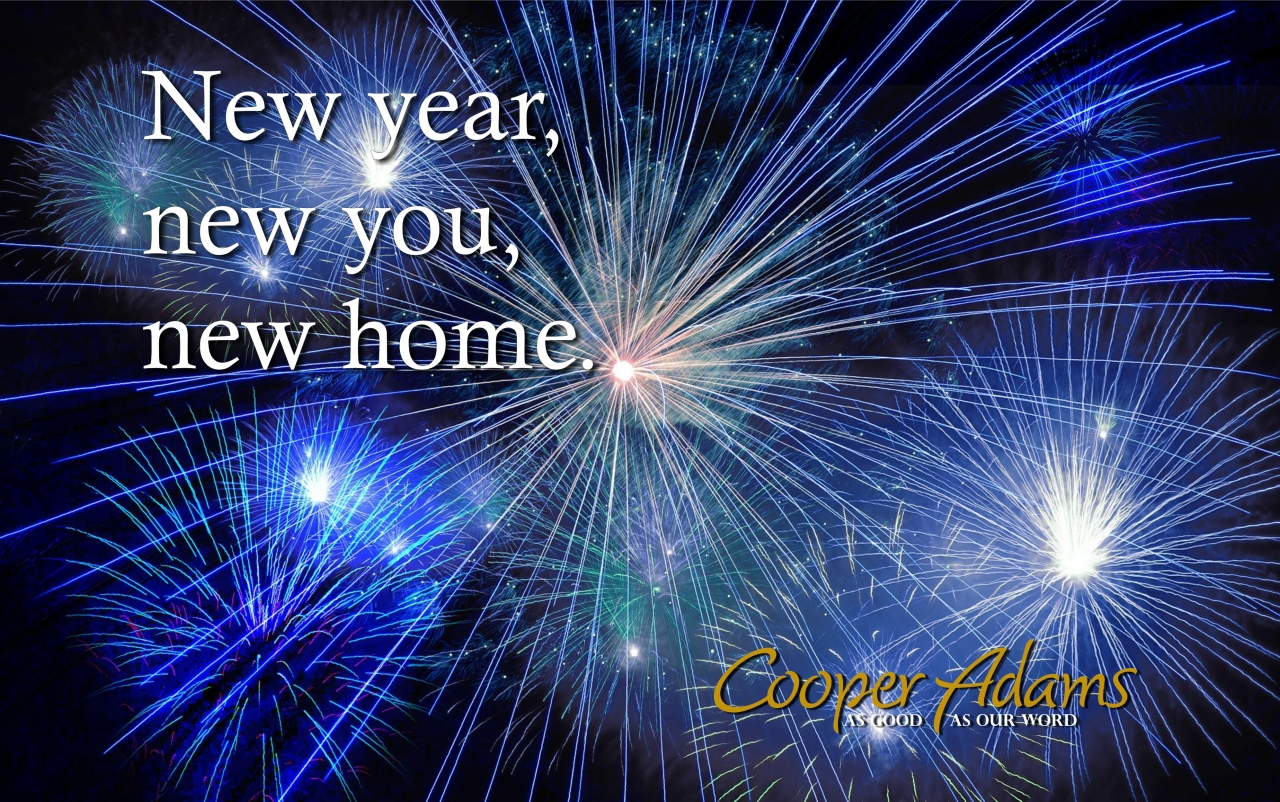 New Year, new you, new home?
