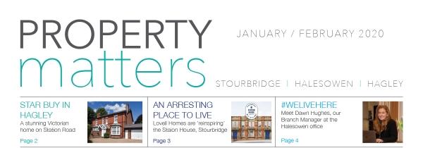 Property Matters - 6th Edition Jan/Feb 2020