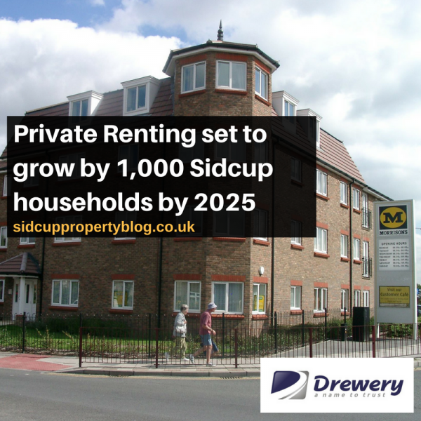 Private Renting set to grow by 1,000 Sidcup households by 2025