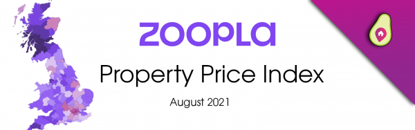 August Zoopla Property Price Index