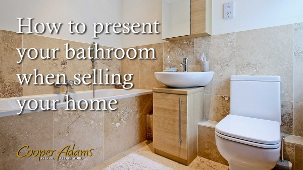How to present your bathroom when selling your home
