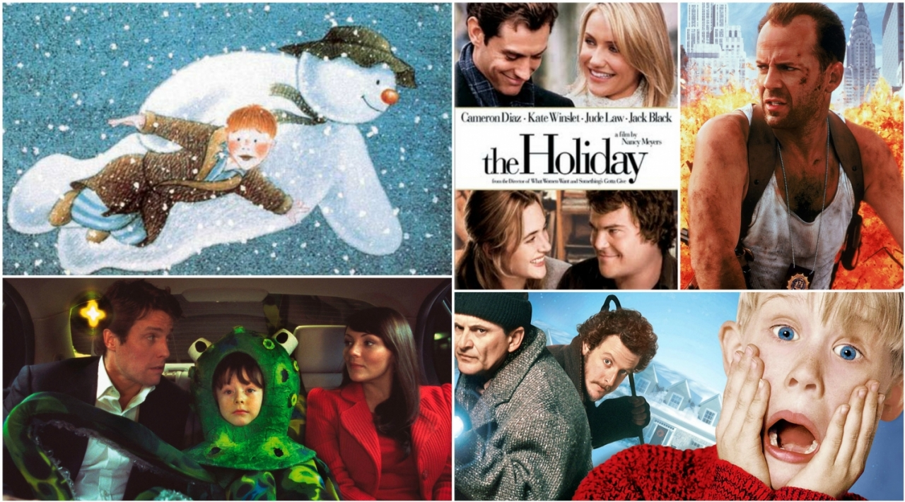 >The houses of Christmas movies