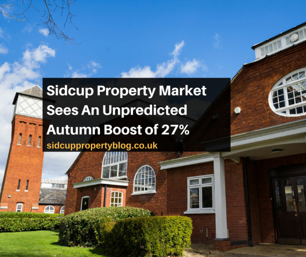 Sidcup Property Market Sees An Unpredicted Autumn Boost of 27%