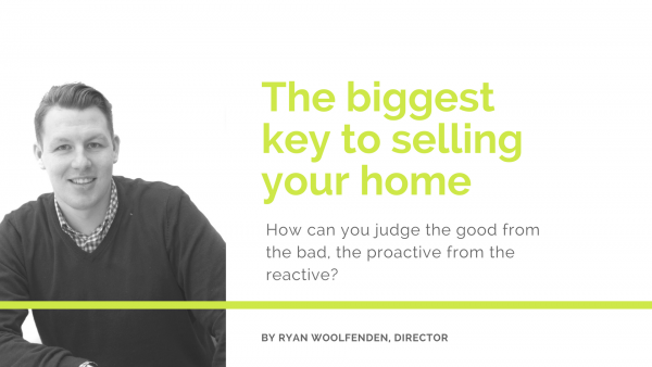 The biggest key to selling your home