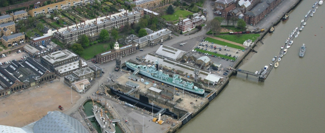 >About Chatham Dockyard