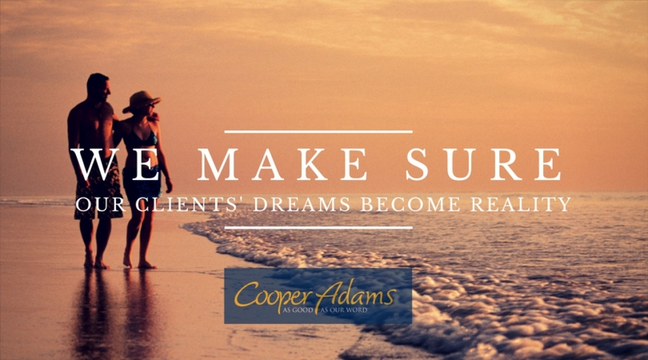 We make sure our clients' dreams become reality