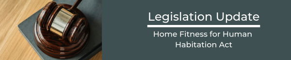 Legislation alert! The Homes (Fitness for Human Habitation) Act 2018 has come in