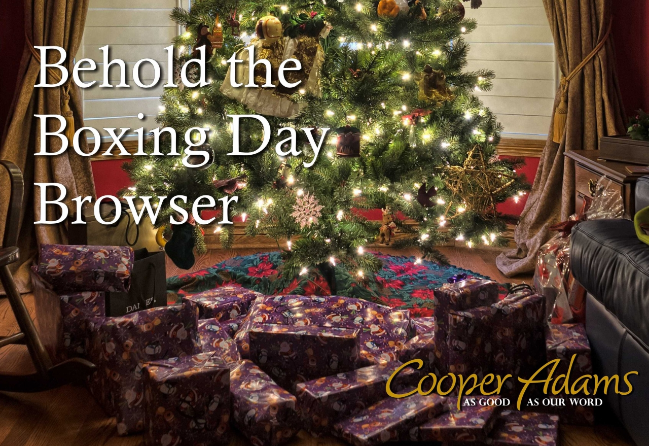Behold the Boxing Day Browser