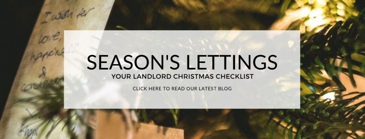 >SEASON'S LETTINGS: YOUR LANDLORD CHRISTMAS CHECKLI