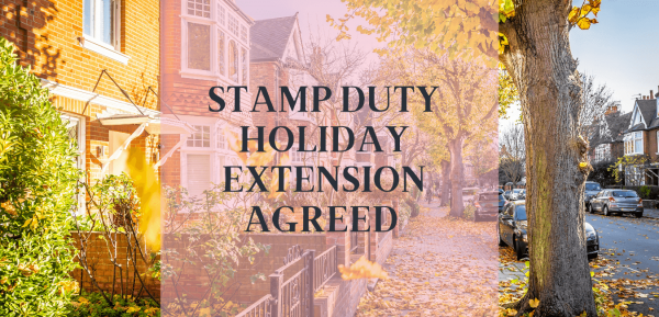 Stamp Duty Holiday extension agreed - but is it a new cliff edge?