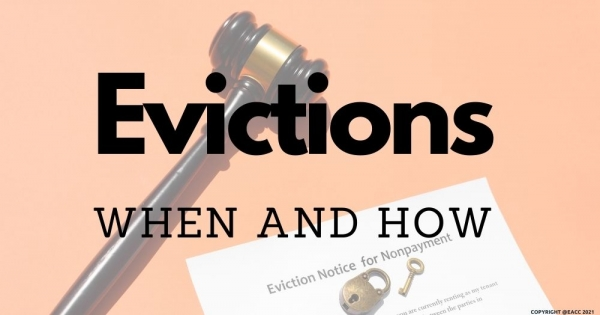 Evictions – When and How