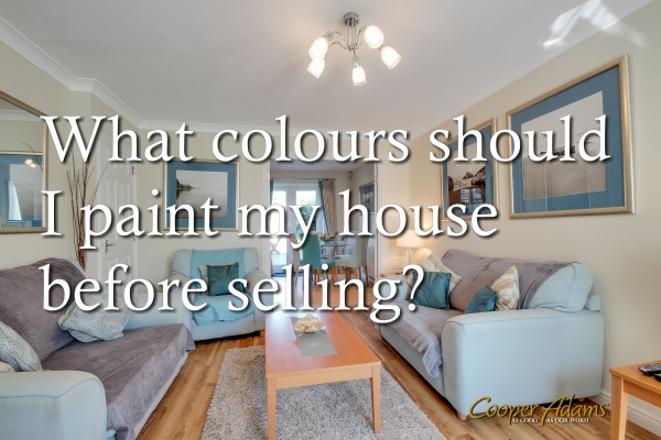 What colours should I paint my house before selling?