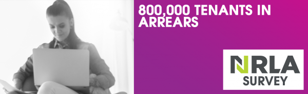 LANDLORD SURVEY - 800,000 renters in Covid-related arrears!
