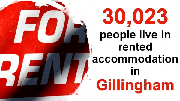 30,023 People Live in Rented Accommodation in Gillingham