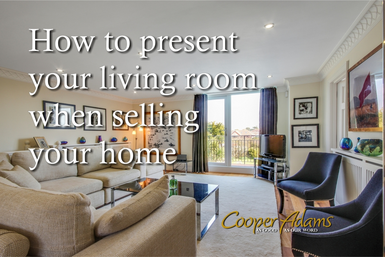 How to present your living...