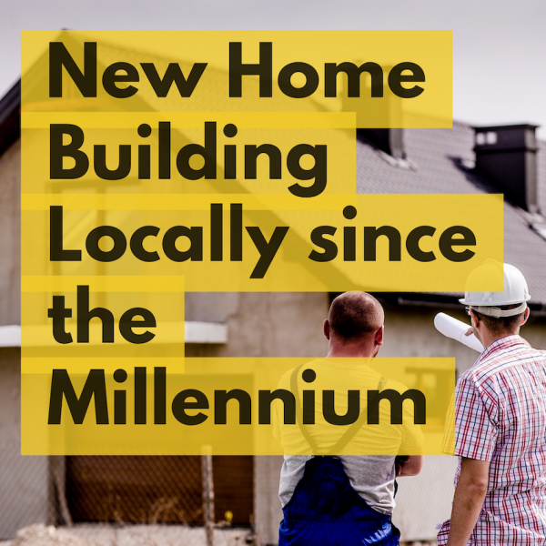 NEW HOME BUILDING IN SIDCUP AND BEXLEY 2018 SLIPS TO 25.2% BELOW THE POST MILLEN