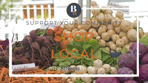 Three good reasons to shop local in St Neots and the surrounding area