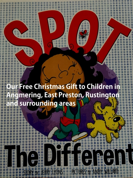 Our Free Christmas Gift to Children in Angmering, East Preston & Rustington