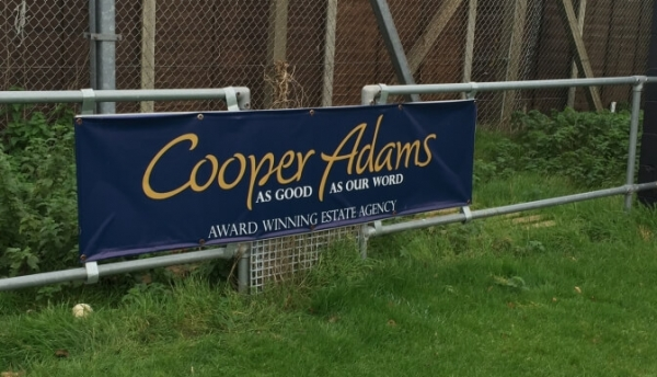 Cooper Adams is proud to sponsor East Preston Football Club