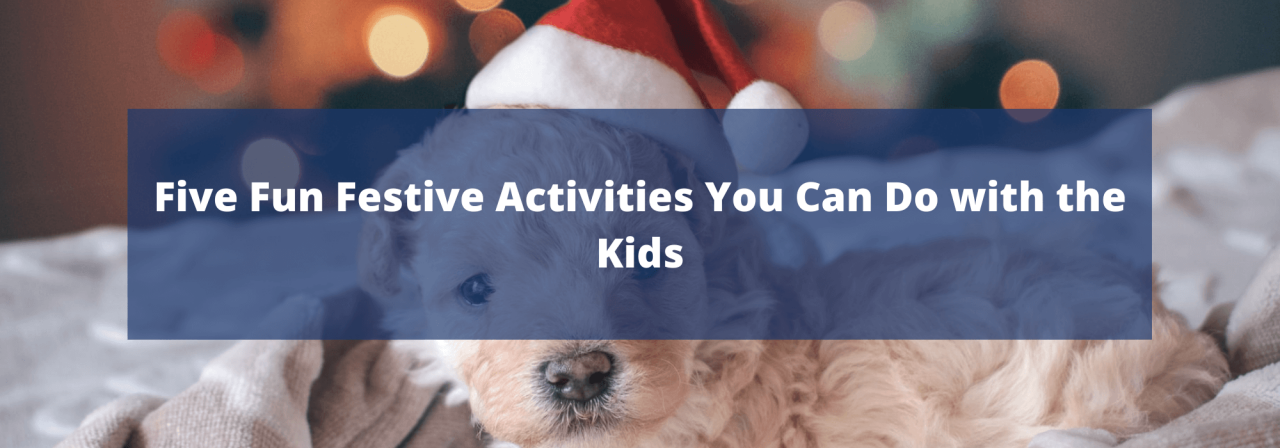 >Five Fun Festive Activities You Can Do with the Ki