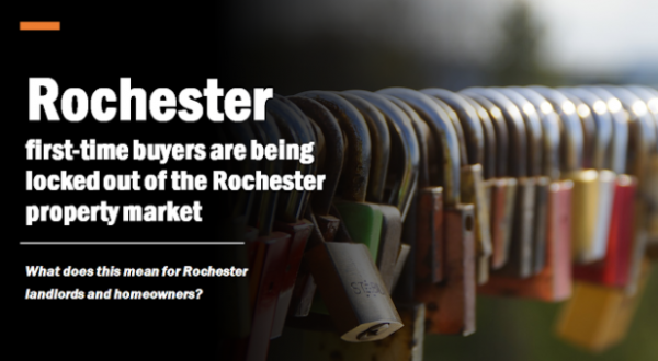 As Rochester First-time Buyers are Being Locked Out of the Rochester Property Ma