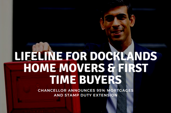 Lifeline for Docklands House Buyers & Docklands First-time Buyers