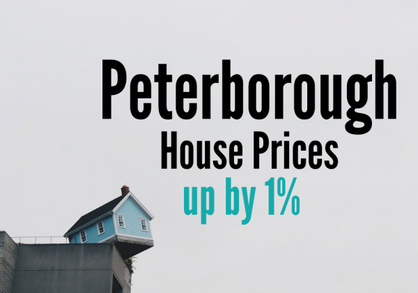 Peterborough Homes Asking Prices Up 1%