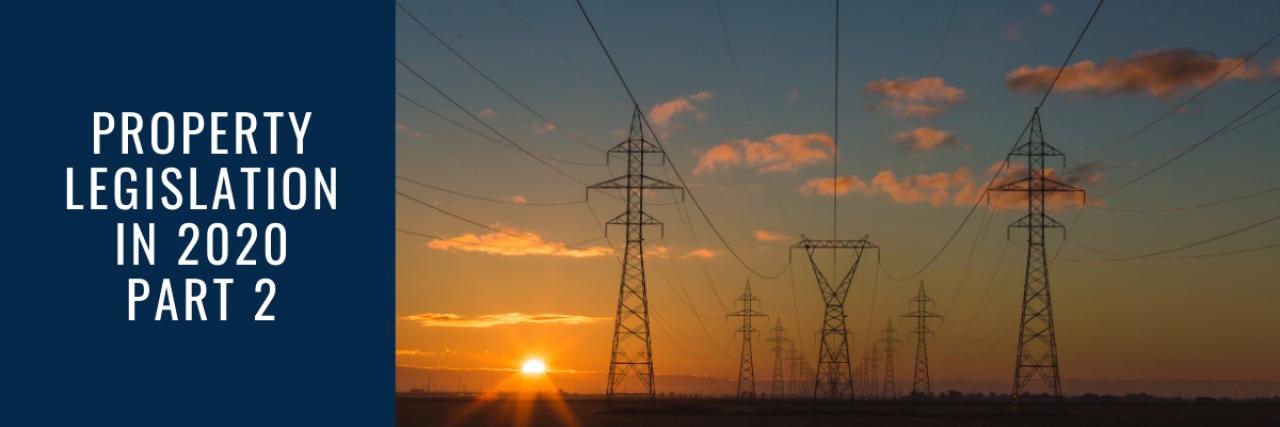 >Property Legislation Part 2 - Electrical Safety