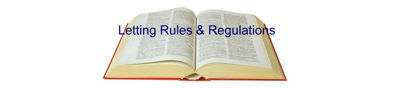 A guide for landlords to lettings rules and regulations