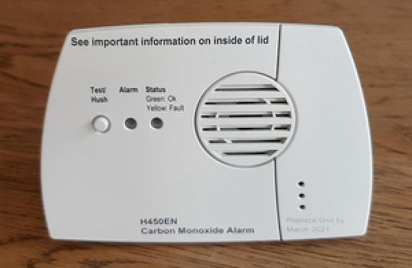 Government Announces plans to review Carbon Monoxide Alarms