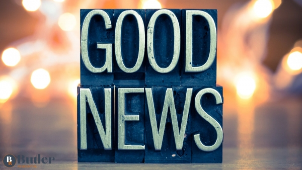 It's #Feelgoodfriday time to focus on a little bit of good news