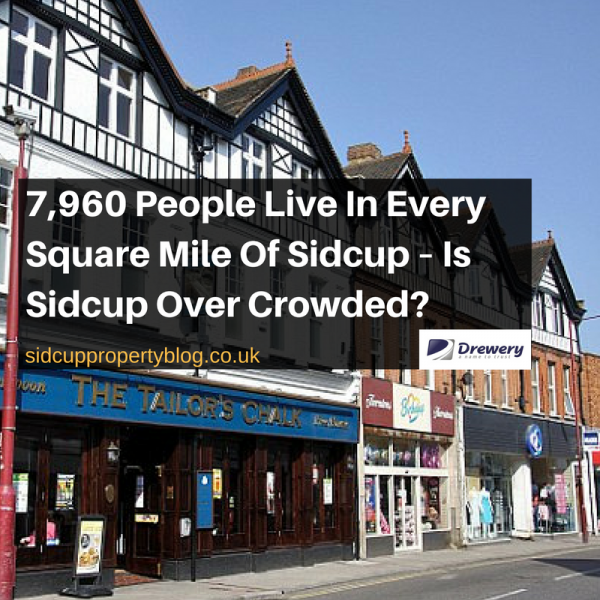 7,960 People Live In Every Square Mile Of Sidcup – Is Sidcup Over Crowded?