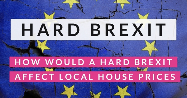 How Would a Hard Brexit Affect Sidcup House Prices?