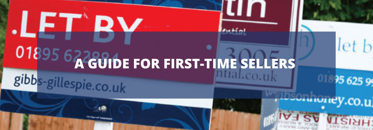 >A Guide for First-Time Sellers